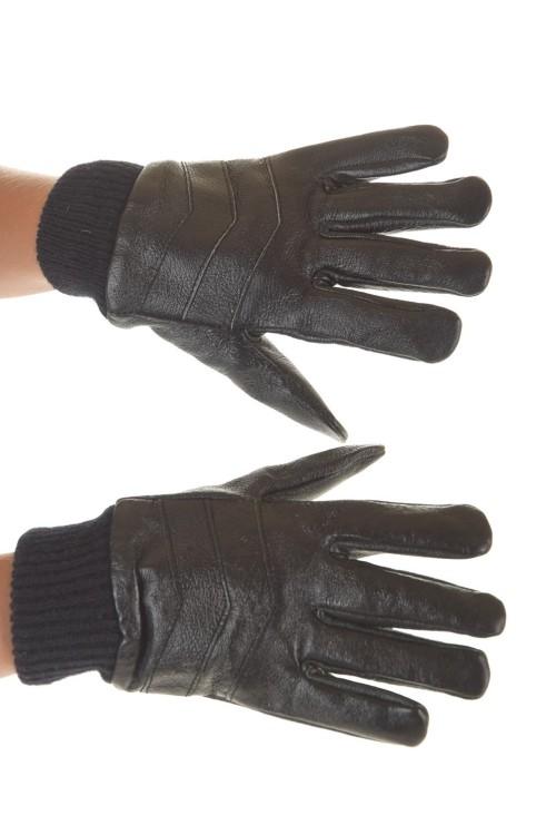 Mănuși de damă din piele naturală consistentă 25.00