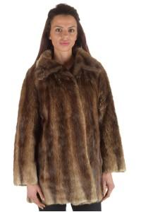 Palton de damă din bizam