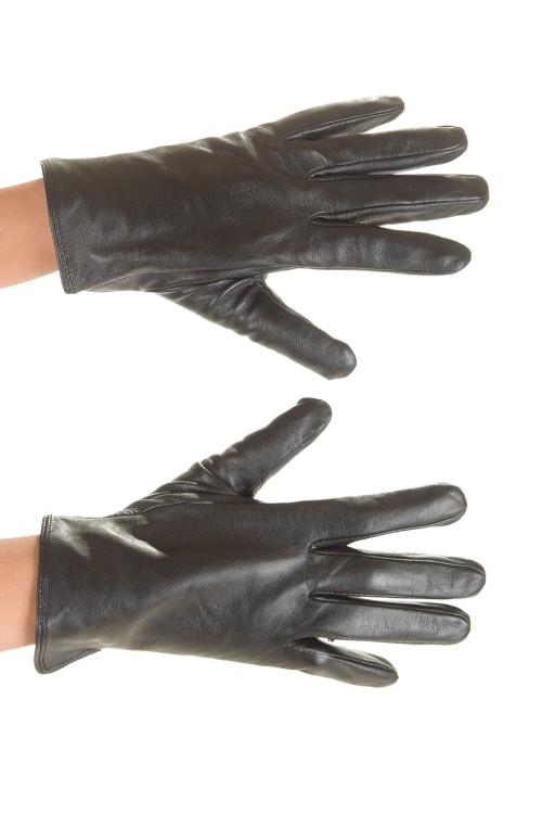 Mănuși de damă maro închis 30.00