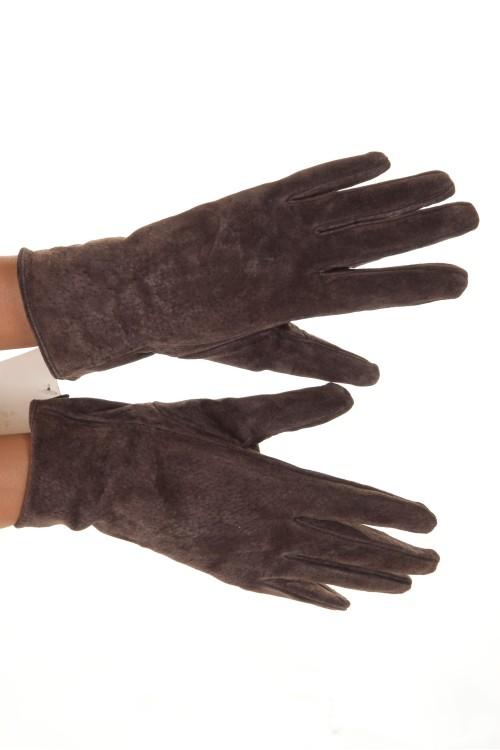 Mănuși din piele întoarsă 45.00
