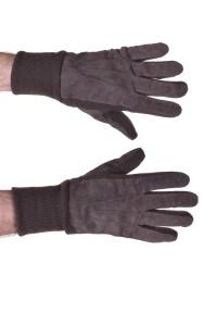 Mănuși de bărbați din piele întoarsă din piele naturală