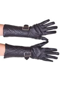 Mănuși de damă extravagante piele