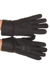 Mănuși de damă clasic din piele întoarsă