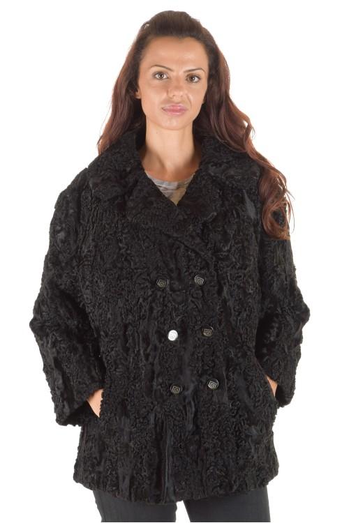 Palton de damă de clasa întâi dе blana naturala 348.00