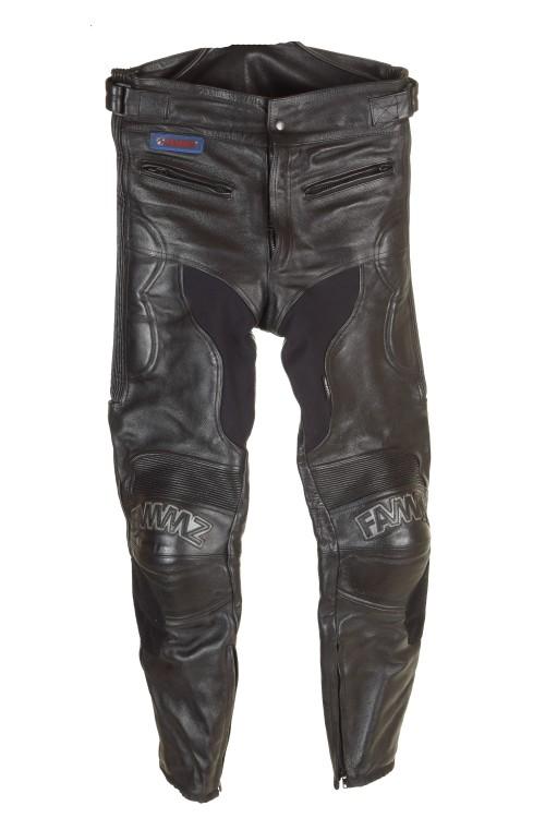 Pantalon de bărbați biker din piele naturală 223.00