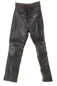 Pantalon de bărbați biker din piele naturală