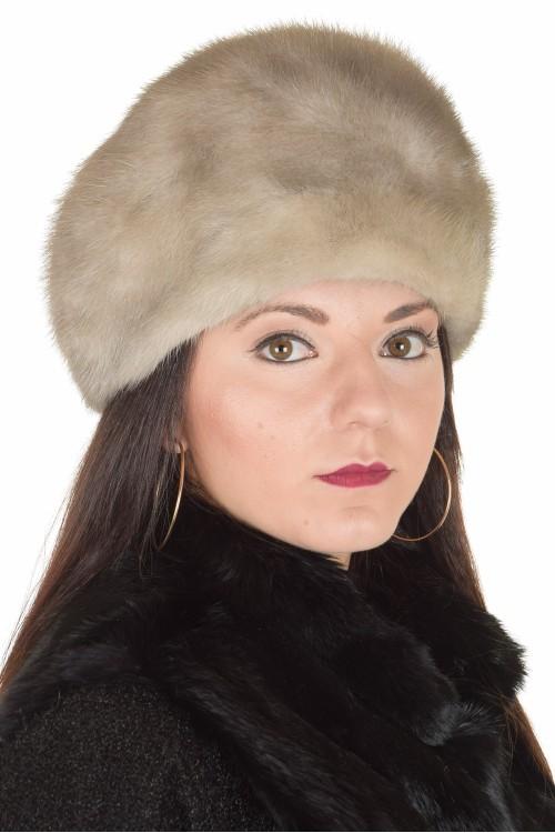 Pălărie de damă drăguță din nurcă 72.00