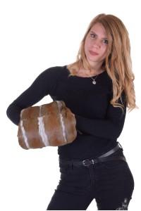Geantă  de damă dе blana naturala