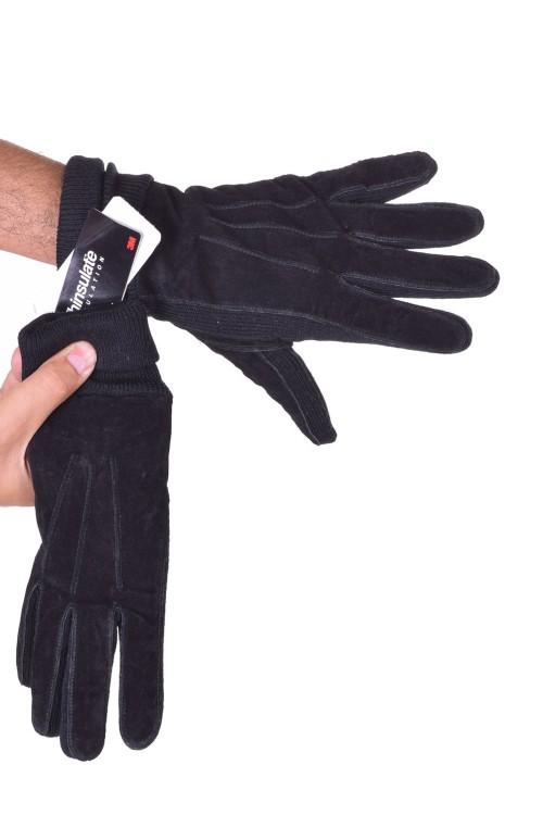 Mănuși din piele întoarsă din piele naturală 48.00