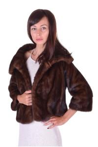 Palton de damă magnificgri din nurcă