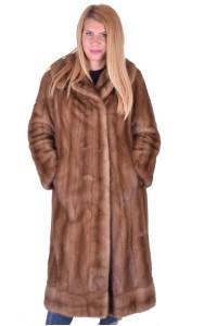 Palton de damă frumos dе blana naturala