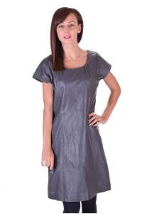 Rochie din piele naturală