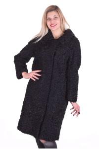 Palton de damă grațios lung dе blana naturala