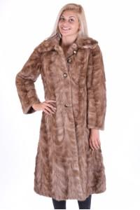Palton de damă grozavdе blana naturala