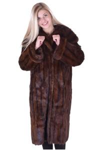 Palton de damă drăguț din bizam