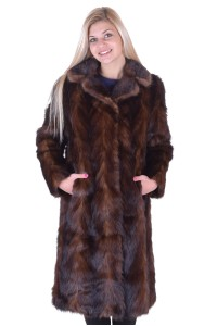 Palton de damă reprezentativ din nurcă