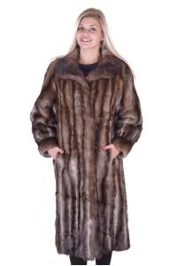 Palton de damă elegant din bizam