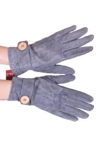 Mănuși de damă din piele întoarsă din piele naturală