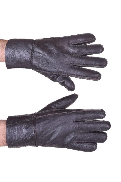 Mănuși negre piele 30.00