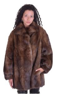 Palton de damă deosebit din bizam