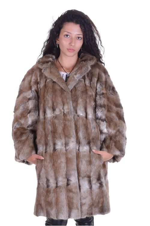 Palton elegant dе blana naturala 198.00