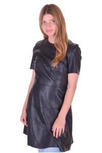 Rochie de damă elegantă din piele artificială