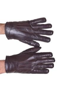 Mănuși de bărbați negre piele