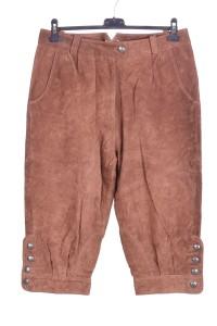Pantalon de damă maro închis