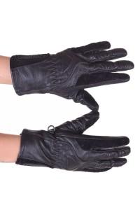 Mănuși de damă biker piele