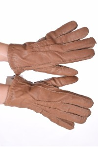 Mănuși de damă negre piele