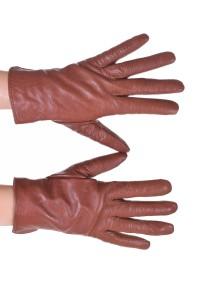 Mănuși maro piele