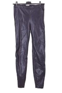 Pantalon din piele artificială