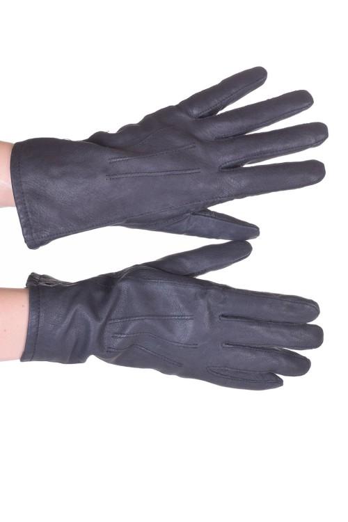 Mănuși gri piele 30.00