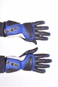 Mănuși de bărbați biker din piele naturală