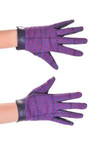 Mănuși de damă sportivenegre din piele