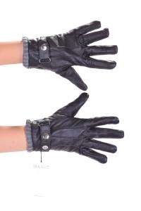 Mănuși cochete din piele naturală