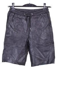 Pantaloni scurți de damă piele
