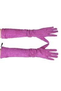 Mănuși din piele întoarsă din piele naturală