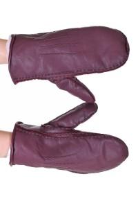 Mănuși din piele naturală