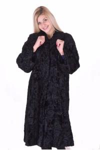 Palton de damă drăguț de astrahan