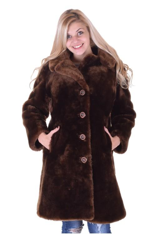 Palton dе blana naturala 122.00