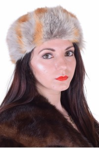 Pălărie de damă de vulpe