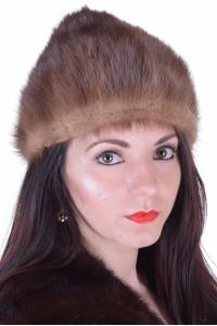 Pălărie de damă frumoasă dе blana naturala