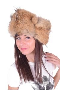 Pălărie albă de vulpe