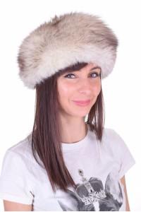 Pălărie maro deschis de vulpe