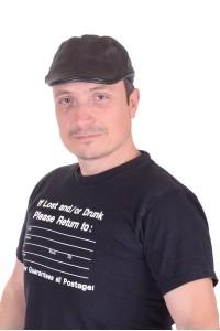Pălărie de bărbați din piele naturală