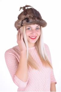 Pălărie de damă din bizam