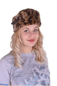 Pălărie ordonată din piele de iepure