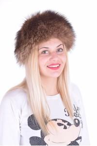 Pălărie de damă dе blana naturala